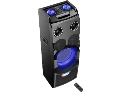 Performanță de TOP* Bluetooth, Negru, 50 W RMS, Iluminare